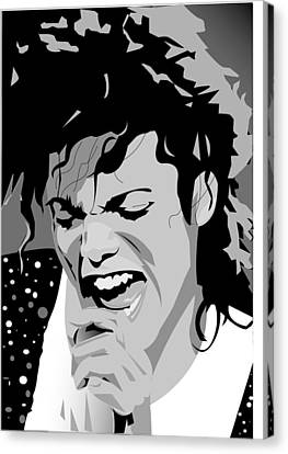 MJ Canvas Print by Jayakrishnan R