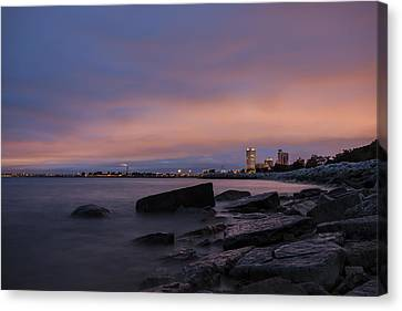 Mke 5am Canvas Print by CJ Schmit