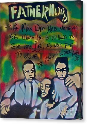 Mlk Fatherhood 1  Canvas Print
