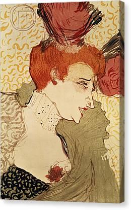Mlle Marcelle Lender Canvas Print