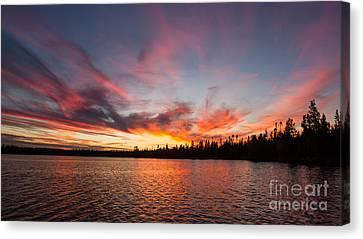 Mn Sunset Symphony Canvas Print