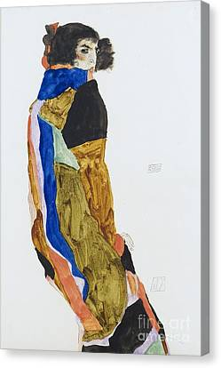 Moa - The Dancer Canvas Print by Pg Reproductions