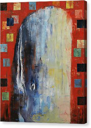Moby Dick Canvas Print by Michael Creese