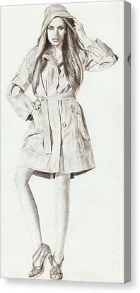 Model 2 Canvas Print by Nur Adlina