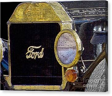 Model A Ford Canvas Print by Betty LaRue