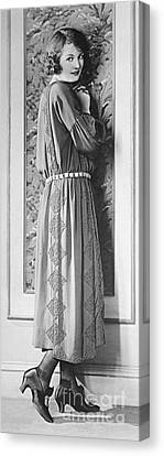 Model Doris Kenyon 1922 Canvas Print by Padre Art