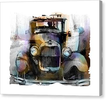 Model T Canvas Print by Bob Salo