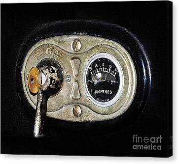 Model T Control Panel Canvas Print by Al Powell Photography USA