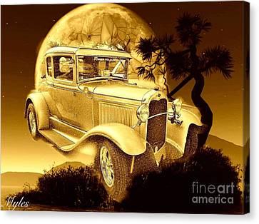 Model T Fantasy  Canvas Print by Saundra Myles