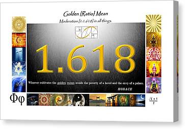 Moder8ing Canvas Print by Peter Hedding