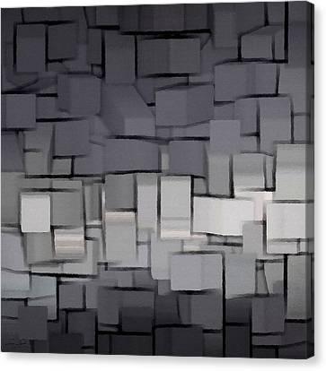 Modern Abstract Art Xx Canvas Print