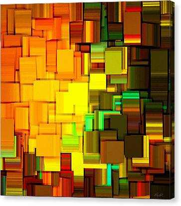 Modern Abstract IIi Canvas Print by Lourry Legarde