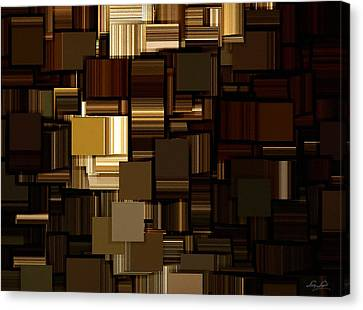 Modern Abstract Iv Canvas Print by Lourry Legarde