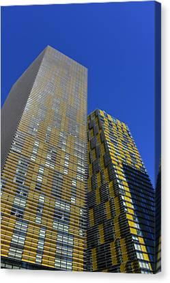 Modern Architecture Las Vegas Canvas Print