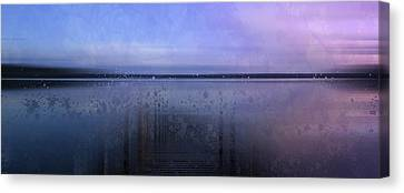 River View Canvas Print - Modern-art Finland Beautiful Nature by Melanie Viola
