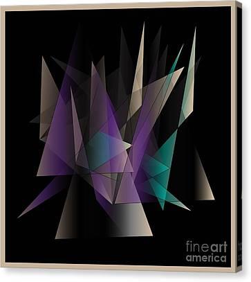 Modern Day Canvas Print by Iris Gelbart