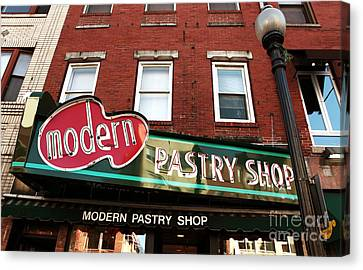 Modern Pastry Shop Canvas Print by John Rizzuto
