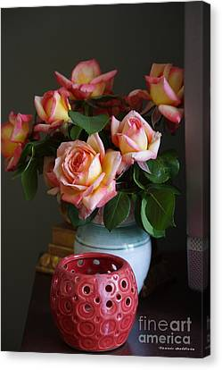 Canvas Print featuring the photograph Modern Still Life by Tannis  Baldwin