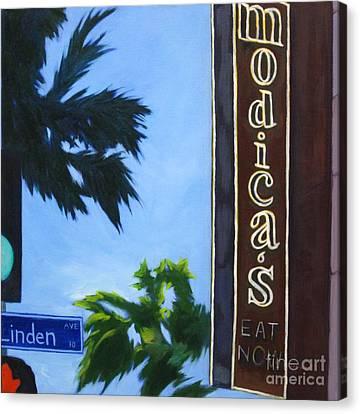 Modicas Canvas Print by Katrina West