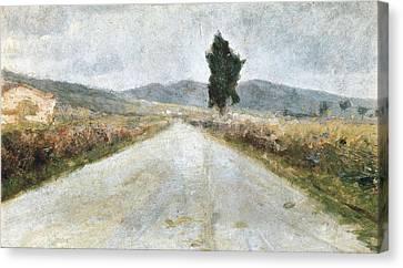 Modigliani, Amedeo 1884-1920. The Canvas Print by Everett