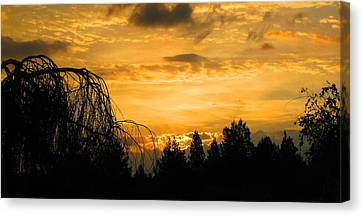 Modoc Sunrise Canvas Print