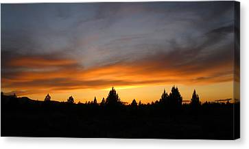Modoc Sunset Canvas Print