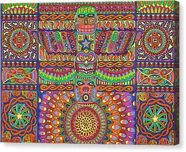 Mohawk Space Casino Canvas Print