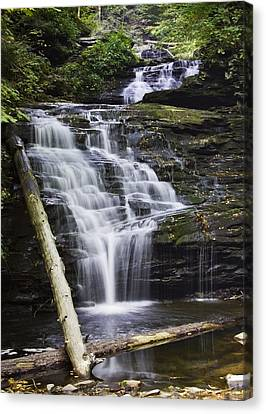 Mohican Falls Canvas Print