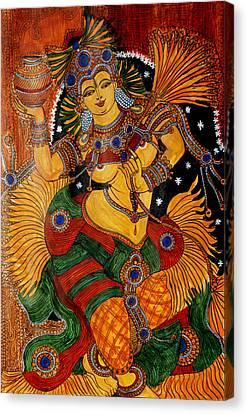 Mohini Canvas Print by Saranya Haridasan