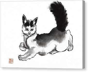 Moi? Canvas Print by Yolanda Koh