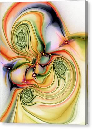 Moirai Canvas Print by Anastasiya Malakhova