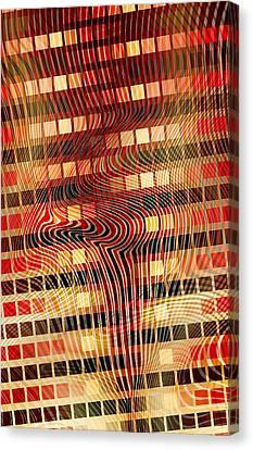 Moire 02052011 Canvas Print by Matt Lindley