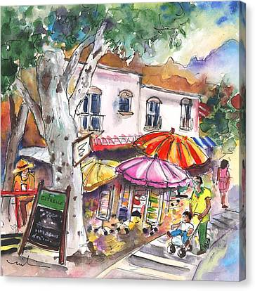 Mojacar Pueblo 01 Canvas Print by Miki De Goodaboom