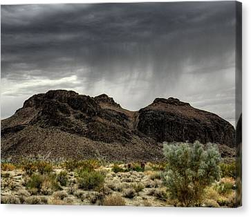 Mojave Hdr 025 Canvas Print by Lance Vaughn