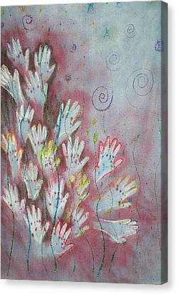 Mojo Praise Canvas Print by Carrie Maurer