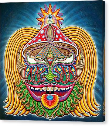 Moksha Master Canvas Print by Chris Dyer