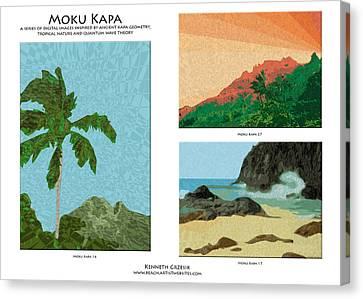 Moku Kapa Poster Canvas Print by Kenneth Grzesik
