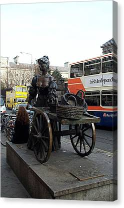 Canvas Print featuring the photograph Molly Malone by Barbara McDevitt