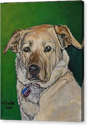 Molly Canvas Print by Wendy Shoults