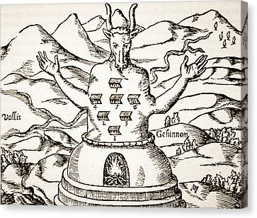 Mountain Canvas Print - Moloch by Italian School