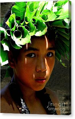 Canvas Print - Molokai Keiki Kane by James Temple
