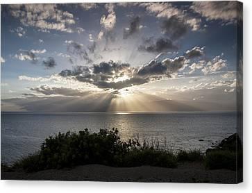 Molokai Sunset Canvas Print by Charlie Osborn