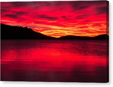 Molten Fire Canvas Print