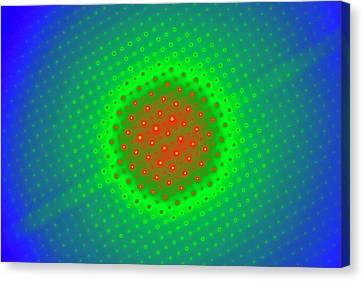 Transmission Canvas Print - Molybdenum Trioxide by Ammrf, University Of Sydney