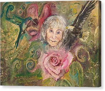Mom Jeanne Canvas Print
