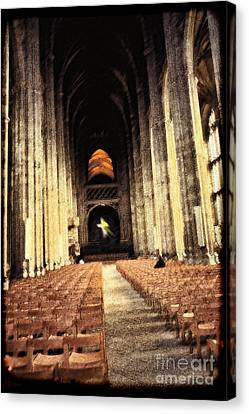 Moment Of Prayer Canvas Print by Jeff Breiman