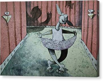 Momentis  The Dancer Canvas Print