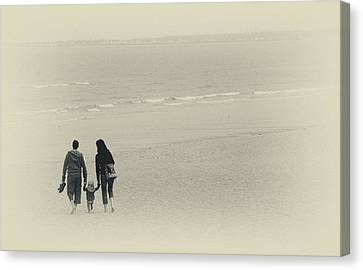 Moments Together Canvas Print by Karol Livote