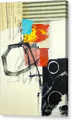 Abstraction Canvas Print - Momentum by Elena Nosyreva