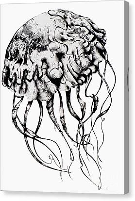 Mommy Jellyfish Canvas Print